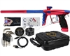 DLX Luxe X Paintball Gun - Red/Blue