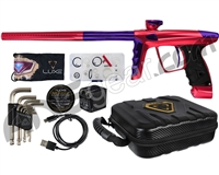 DLX Luxe X Paintball Gun - Red/Purple
