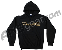 DLX Luxe Hooded Pullover Sweatshirt - Black