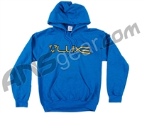 DLX Luxe Hooded Pullover Sweatshirt - Blue