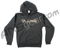 DLX Luxe Hooded Pullover Sweatshirt - Dark Grey