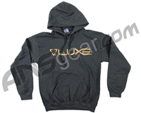 DLX Luxe Hooded Pullover Sweatshirt - Grey (No Outline)