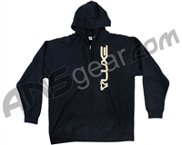 DLX Luxe Zip Up Hooded Sweatshirt - Navy Blue