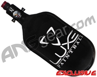 DLX Luxe CLS Carbon Fiber Air Tank - 68/4500 w/ Ninja Ultralite Regulator - Black/White