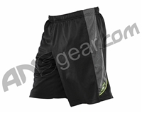 Dye Arena Shorts - Black/Lime