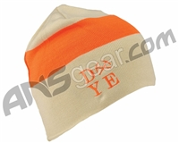 Dye 3AM Beanie - Tan/Hunter Orange