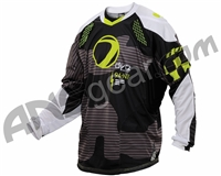 2014 Dye C14 Paintball Jersey - Bomber Black/Lime
