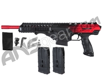Dye Assault Matrix DAM Paintball Gun - Black Cherry Fade