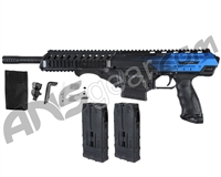 Dye Assault Matrix DAM Paintball Gun - Blue Water Fade