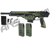 Dye Assault Matrix DAM Paintball Gun - Forest Fade
