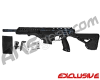 Dye Assault Matrix DAM Paintball Gun - Polished Navy Camo Subdued
