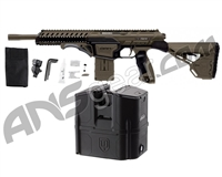 Dye DAM Tactical Paintball Gun w/ Box Rotor - Dark Earth
