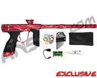 Dye DSR Paintball Gun - Red Splash