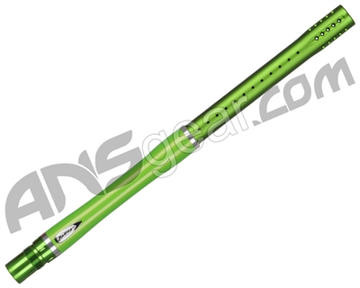 "Dye Glass Fiber 2 Piece 15"" Boomstick Barrel - Autococker Thread - Lime"