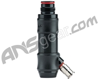 Dye DFF-20 Hyper Inline Regulator - Polished Black