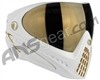 Dye Invision Goggle I4 Pro Mask Collector's Edition - White/Gold