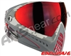 Dye Invision I4 Pro Mask - Airstrike Red w/ Dyetanium Northern Fire Lens