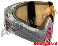 Dye Invision I4 Pro Mask - Airstrike Red w/ High Definition Lens