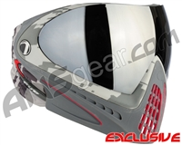 Dye Invision I4 Pro Mask - Airstrike Red w/ Smoke Silver Lens