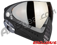 Dye Invision I4 Pro Mask - Barracks Grey w/ Dyetanium Orange Silver Lens