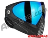 Dye Invision I4 Pro Mask - Black w/ Dyetanium Blue Ice Lens