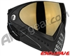 Dye Invision I4 Pro Mask - Black w/ Smoke Gold Lens