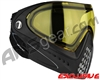 Dye Invision I4 Pro Mask - Black w/ Yellow Lens