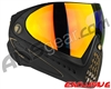 Dye Invision I4 Pro Mask - Black/Gold w/ Dyetanium Bronze Fire Lens
