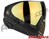 Dye Invision I4 Pro Mask - Black/Gold w/ Dyetanium Faded Bronze Sunrise Lens