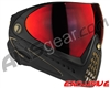 Dye Invision I4 Pro Mask - Black/Gold w/ Dyetanium Northern Fire Lens