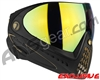 Dye Invision I4 Pro Mask - Black/Gold w/ Dyetanium Northern Lights Lens