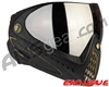 Dye Invision I4 Pro Mask - Black/Gold w/ Dyetanium Orange Silver Lens