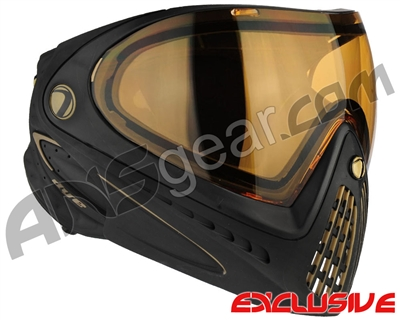 Dye Invision I4 Pro Mask - Black/Gold w/ High Definition Lens