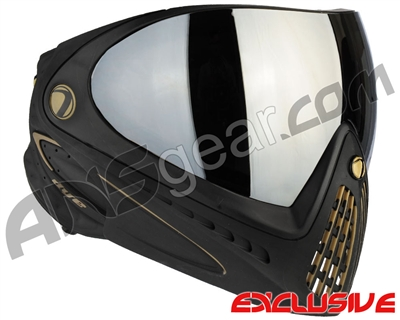Dye Invision I4 Pro Mask - Black/Gold w/ Smoke Silver Lens