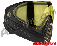 Dye Invision I4 Pro Mask - Black/Gold w/ Yellow Lens