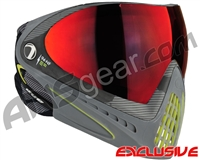 Dye Invision I4 Pro Mask - Bomber Lime w/ Dyetanium Northern Fire Lens