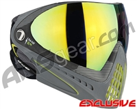Dye Invision I4 Pro Mask - Bomber Lime w/ Dyetanium Northern Lights Lens