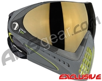 Dye Invision I4 Pro Mask - Bomber Lime w/ Smoke Gold Lens