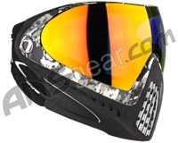 Dye Invision I4 Pro Mask - Liquid Grey w/ Dyetanium Bronze Fire Lens