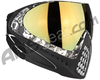 Dye Invision I4 Pro Mask - Liquid Grey w/ Dyetanium Faded Bronze Sunrise Lens