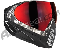 Dye Invision I4 Pro Mask - Liquid Grey w/ Dyetanium Northern Fire Lens
