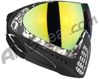 Dye Invision I4 Pro Mask - Liquid Grey w/ Dyetanium Northern Lights Lens