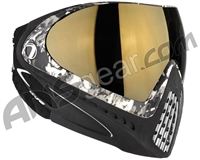 Dye Invision I4 Pro Mask - Liquid Grey w/ Smoke Gold Lens