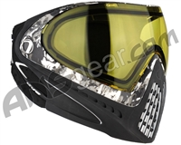 Dye Invision I4 Pro Mask - Liquid Grey w/ Yellow Lens