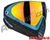 Dye Invision I4 Pro Mask - Powder Blue w/ Dyetanium Bronze Fire Lens