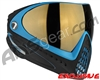 Dye Invision I4 Pro Mask - Powder Blue w/ Smoke Gold Lens