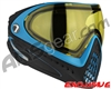 Dye Invision I4 Pro Mask - Powder Blue w/ Yellow Lens