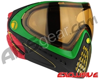 Dye Invision I4 Pro Mask - Rasta w/ High Definition Lens