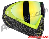 Dye Invision I4 Pro Mask - Skinned Lime w/ Dyetanium Northern Lights Lens