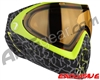 Dye Invision I4 Pro Mask - Skinned Lime w/ High Definition Lens